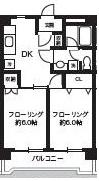 201号室(2DK)